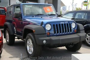 2009 Jeep Wrangler JK MY2009 Sport Blue 6 Speed Manual Softtop Osborne Park Stirling Area Preview