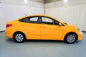 2016 Hyundai Accent RB4 MY16 Active Yellow 6 Speed Constant Variable Sedan Wangara Wanneroo Area Preview