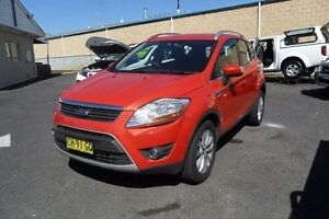 2012 Ford Kuga TE Trend Orange Sports Automatic Wagon Mudgee Mudgee Area Preview