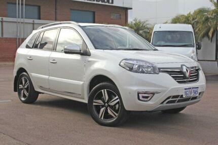 2016 Renault Koleos White Constant Variable Wagon Wangara Wanneroo Area Preview