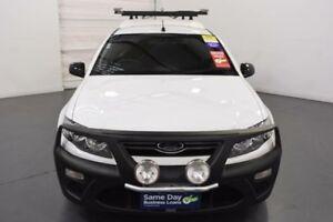 2014 Ford Falcon FG MkII Ute Super Cab White Sports Automatic Utility