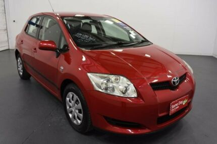 2009 Toyota Corolla ZRE152R MY09 Ascent Red 4 Speed Automatic Hatchback Moorabbin Kingston Area Preview