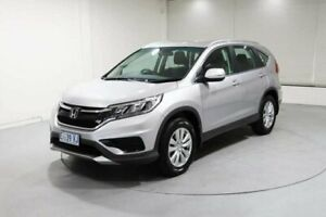 2015 Honda CR-V RM Series II MY16 VTi-S 4WD Silver 5 Speed Sports Automatic Wagon Invermay Launceston Area Preview
