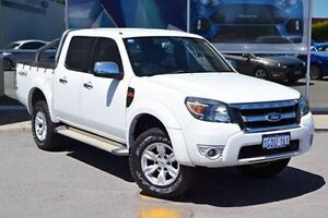 2010 Ford Ranger PK XLT Crew Cab White 5 Speed Manual Utility Woodbridge Swan Area Preview
