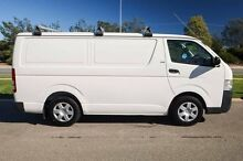 2009 Toyota Hiace KDH201R MY08 LWB White 5 Speed Manual Van Mindarie Wanneroo Area Preview