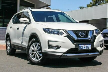 2018 Nissan X-Trail T32 Series II ST-L X-tronic 2WD White 7 Speed Constant Variable Wagon Victoria Park Victoria Park Area Preview