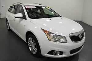 2014 Holden Cruze JH Series II MY14 CDX Sportwagon Heron White Sports Automatic Wagon Moorabbin Kingston Area Preview