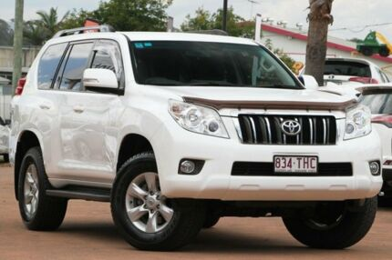 2013 Toyota Landcruiser Prado KDJ150R GXL Super White 5 Speed Sports Automatic Wagon Moorooka Brisbane South West Preview