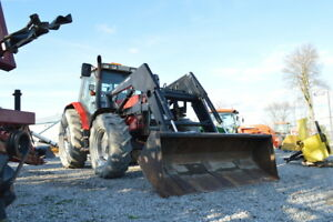 1997 Massey Ferguson 6180 with Allied Loader