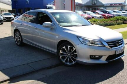 2013 Honda Accord 9th Gen MY13 V6L Silver 6 Speed Sports Automatic Sedan Port Macquarie Port Macquarie City Preview
