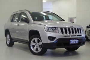 2013 Jeep Compass MK MY13 Sport Silver 5 Speed Manual Wagon Myaree Melville Area Preview