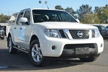 2012 Nissan Navara D40 S6 MY12 ST 4x2 White 5 Speed Sports Automatic Utility Nailsworth Prospect Area Preview