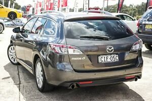 2012 Mazda 6 GH1052 MY12 Touring Graphite 5 Speed Sports Automatic Wagon Blacktown Blacktown Area Preview