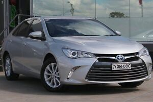 2016 Toyota Camry AVV50R MY16 Altise Hybrid Silver Continuous Variable Sedan Old Guildford Fairfield Area Preview