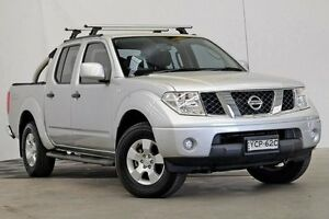 2014 Nissan Navara D40 S9 Silverline SE Silver 5 Speed Automatic Utility Seven Hills Blacktown Area Preview