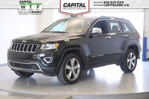 2015 Jeep Grand Cherokee Limited 4WD *Power Liftgate-Sunroof-Lea