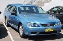 2006 Ford Falcon BF XT Blue 4 Speed Sports Automatic Wagon Brookvale Manly Area Preview