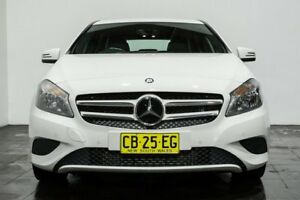 2014 Mercedes-Benz A180 W176 D-CT White 7 Speed Sports Automatic Dual Clutch Hatchback