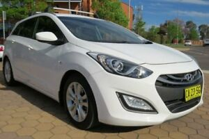2014 Hyundai i30 GD Active Tourer White 6 Speed Sports Automatic Wagon