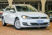 2014 Volkswagen Golf VII MY14 90TSI DSG White 7 Speed Sports Automatic Dual Clutch Hatchback Willagee Melville Area Preview