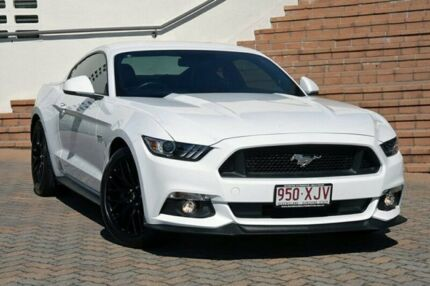2017 Ford Mustang FM MY17 GT Fastback SelectShift Oxford White 6 Speed Sports Automatic Fastback Southport Gold Coast City Preview