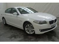 2012 BMW 5 Series 2.0 520D SE 4d AUTO 181 BHP Diesel white Automatic