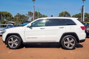 2014 Jeep Grand Cherokee WK MY2014 Limited Bright White 8 Speed Sports Automatic Wagon