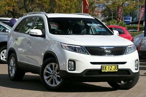 2013 Kia Sorento XM MY14 SLi (4x4) White 6 Speed Automatic Wagon Zetland Inner Sydney Preview