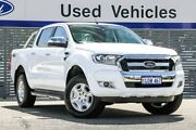 2018 Ford Ranger PX MkII 2018.00MY XLT Double Cab White 6 Speed Sports Automatic Utility Maddington Gosnells Area Preview