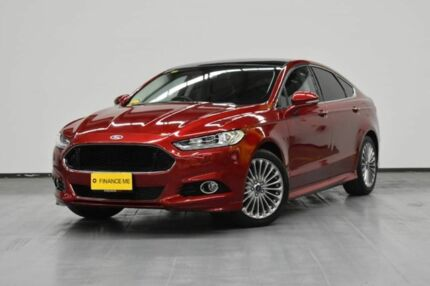 2015 Ford Mondeo MD Titanium PwrShift Ruby Red 6 Speed Sports Automatic Dual Clutch Hatchback Brooklyn Brimbank Area Preview