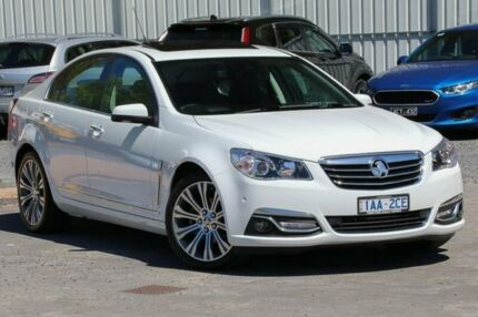 2013 Holden Calais VF MY14 V White 6 Speed Sports Automatic Sedan