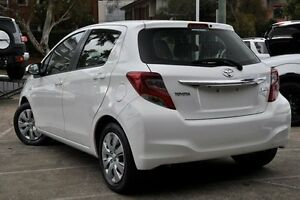 2015 Toyota Yaris NCP130R MY15 Ascent White 4 Speed Automatic Hatchback Mosman Mosman Area Preview