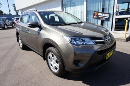 2014 Toyota RAV4 ASA44R MY14 GX AWD Liquid Bronze 6 Speed Sports Automatic Wagon