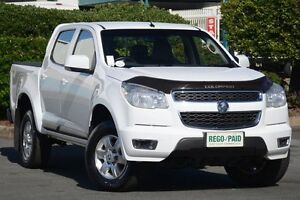 2014 Holden Colorado RG MY14 LT Crew Cab White 6 Speed Sports Automatic Utility Acacia Ridge Brisbane South West Preview