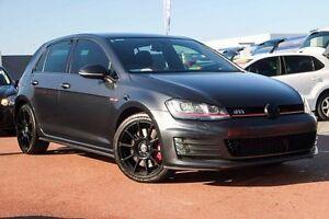 2014 Volkswagen Golf VII MY15 Grey 6 Speed Sports Automatic Dual Clutch Hatchback Osborne Park Stirling Area Preview