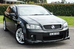 2009 Holden Commodore VE MY10 SV6 Black 6 Speed Automatic Sportswagon Riverstone Blacktown Area Preview