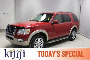 2010 Ford Explorer AWD EDDIE BAUER Rear DVD,  Leather,  Heated S