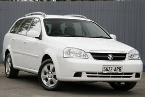 2009 Holden Viva JF MY09 Alpine White 4 Speed Automatic Wagon Enfield Port Adelaide Area Preview
