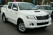 2014 Toyota Hilux KUN26R MY14 SR5 Double Cab White 5 Speed Automatic Utility Phillip Woden Valley Preview