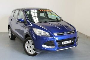 2015 Ford Kuga TF MY16 Ambiente AWD Deep Impact Blue 6 Speed Sports Automatic Wagon Hamilton East Newcastle Area Preview
