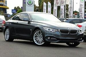 2014 BMW 428i F32 Luxury Line Grey 8 Speed Sports Automatic Coupe Nunawading Whitehorse Area Preview