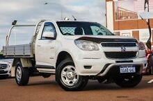 2012 Holden Colorado RG MY13 LX White 5 Speed Manual Cab Chassis Fremantle Fremantle Area Preview