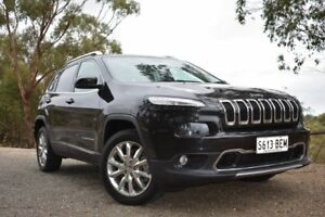 2014 Jeep Cherokee KL Limited Black 9 Speed Sports Automatic Wagon St Marys Mitcham Area Preview