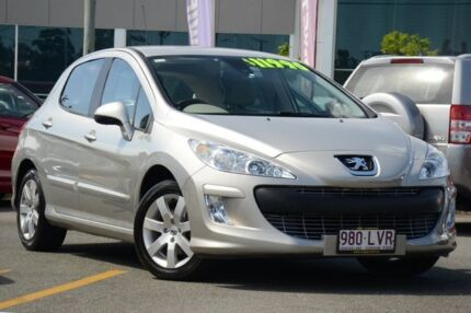 2008 Peugeot 308 T7 XSE HDI Silver 6 Speed Sports Automatic Hatchback