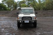 2015 Toyota Landcruiser VDJ79R GXL Double Cab White 5 Speed Manual Cab Chassis Embleton Bayswater Area Preview