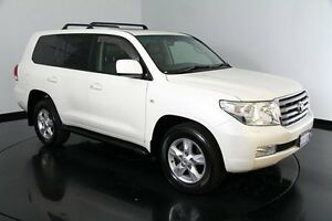 2011 Toyota Landcruiser VDJ200R MY10 Sahara White 6 Speed Sports Automatic Wagon Victoria Park Victoria Park Area Preview
