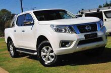 2015 Nissan Navara D23 ST White 6 Speed Manual Utility Wangara Wanneroo Area Preview