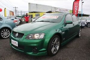 2011 Holden Commodore VE II MY12 SV6 Green 6 Speed Sports Automatic Sedan Moorabbin Kingston Area Preview