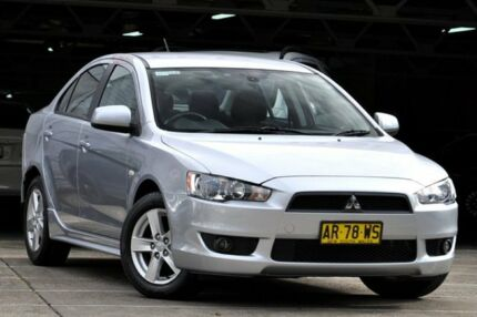 2007 Mitsubishi Lancer CJ VR Silver 6 Speed CVT Auto Sequential Sedan Mosman Mosman Area Preview