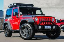2011 Jeep Wrangler JK MY2011 Sport 70th Anniversary Red 6 Speed Manual Hardtop Osborne Park Stirling Area Preview